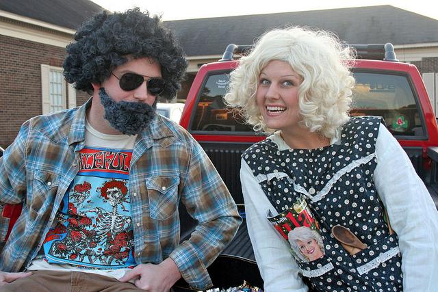 Jerry Garcia & Paula Deen