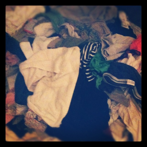 The plan was to fold laundry tonight. #before #marchphotoaday