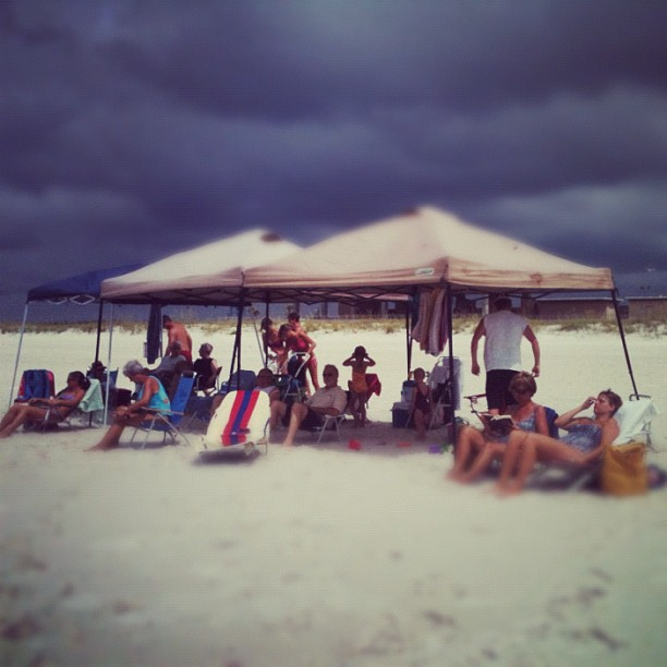 Bedouins at the beach!