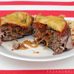 Memorial Day Recipe: Stuffed Burgers