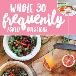 Whole30 FAQs + Mocha Latte Recipe