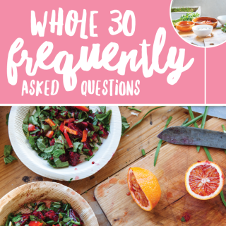 Whole30 FAQs + Mocha Latte Recipe