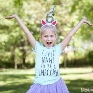 DIY Unicorn Horn Party Hats