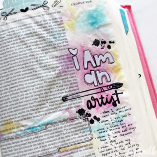Bible Journaling Update | tazandbelly.com