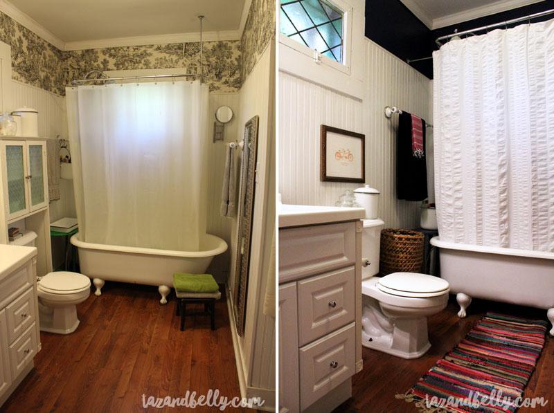 boho bathroom. Budget Boho Bathroom  tazandbelly com Before After Taz and Belly