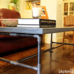 DIY Concrete & Pipe Fitting Coffee Table