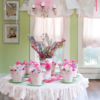 Birthday Flashback: A Fancy Nancy Tea Party