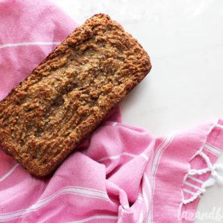 Paleo Banana Bread | tazandbelly.com