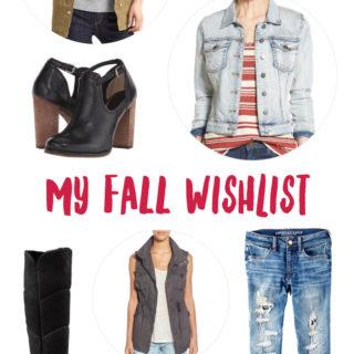 My Fall Wishlist | tazandbelly.com