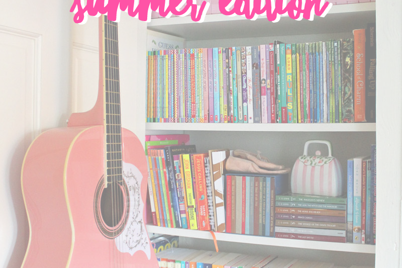I challenged my 9 year old to read for 20 minutes a day this summer and she knocked it out of the park! Join us to see What Ella Read this summer! | tazandbelly.com