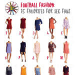 Football Fashion + Clear Crossbody Bags
