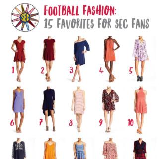 SEC Football Fashion | tazandbelly.com