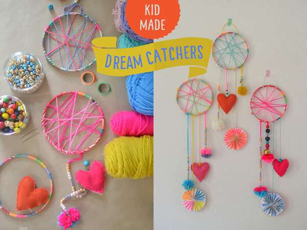 Dream Catchers For Children DIY Dream Catcher Party Craft Taz and Belly 20
