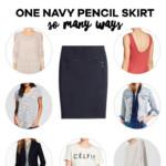 Six Ways to Wear a Pencil Skirt