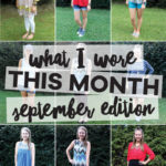 What I Wore in September