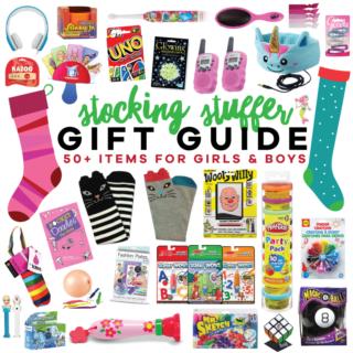 Holiday Stocking Stuffer Gift Guide | tazandbelly.com
