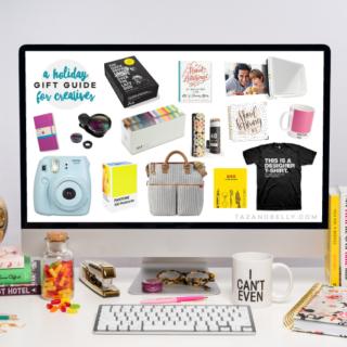 Holiday Gift Guide for Creatives | tazandbelly.com