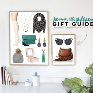 Holiday Gift Guide for Girlfriends | tazandbelly.com