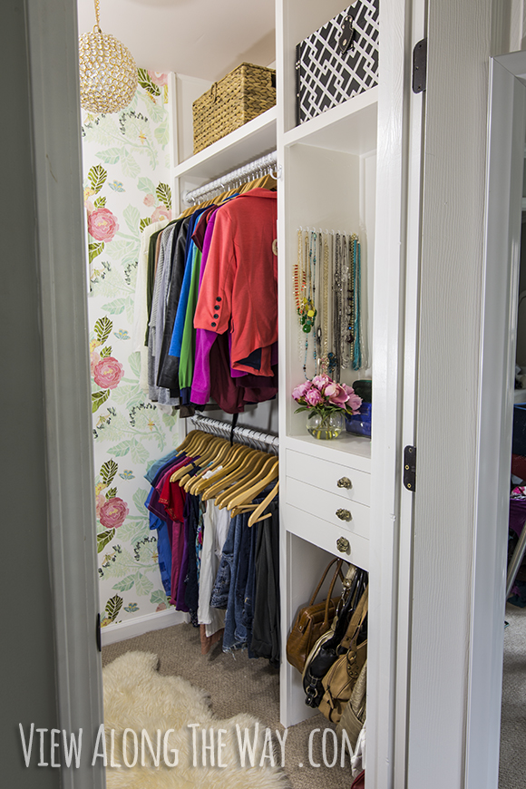 View Along The Way Closet