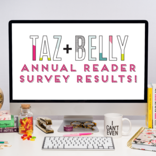 Annual Reader Survey Results | tazandbelly.com