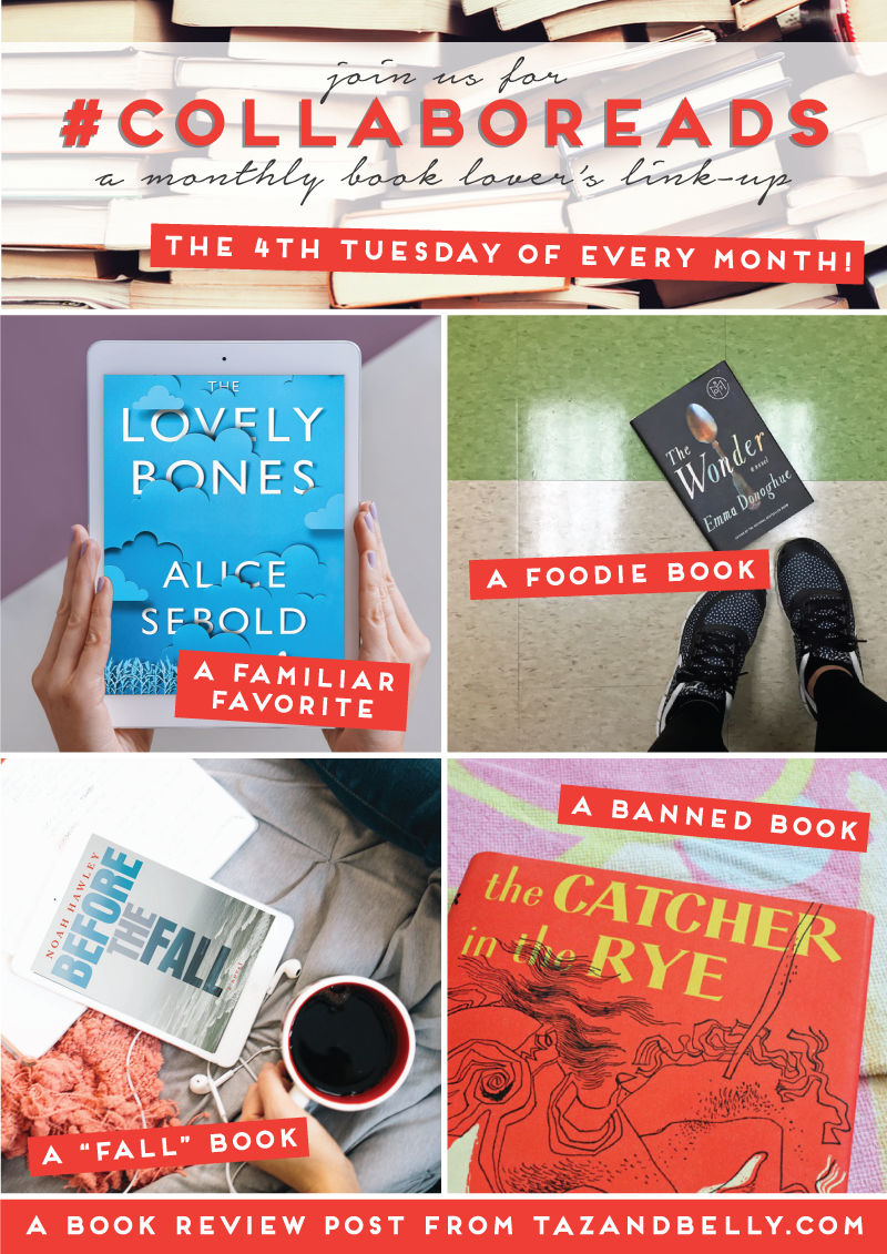 Join us each month for the Collaboreads Virtual Book Club. We'll pick the prompt, you pick the book, and we'll meet back here to discuss! | tazandbelly.com