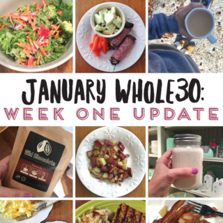 January Whole30: Week One Update | tazandbelly.com