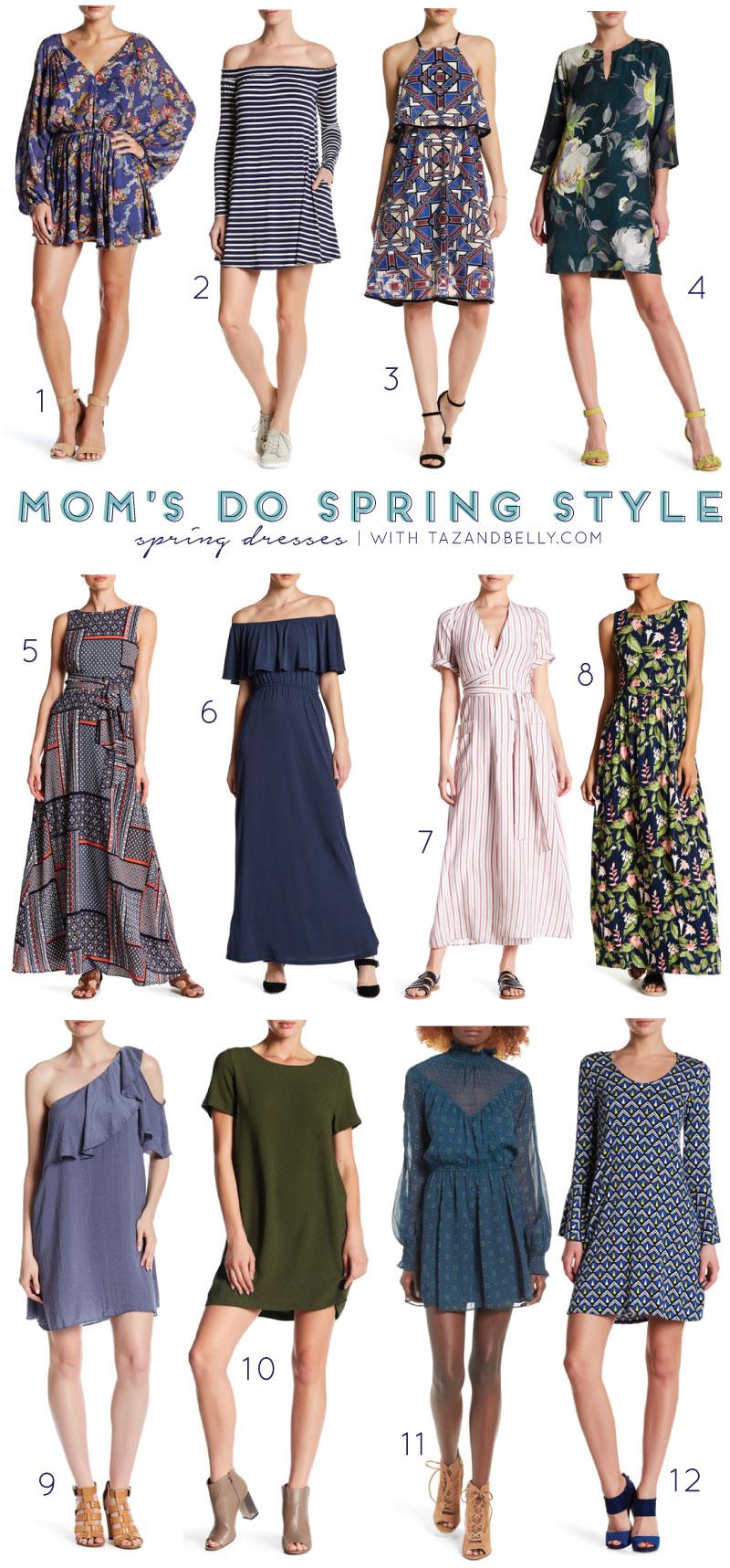 Mom's Do Spring Style | tazandbelly.com