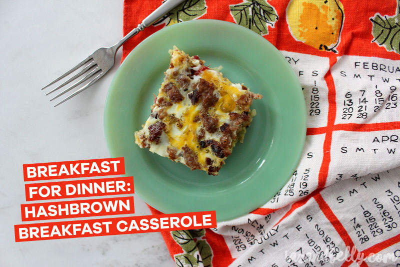 Hashbrown Breakfast Casserole | tazandbelly.com