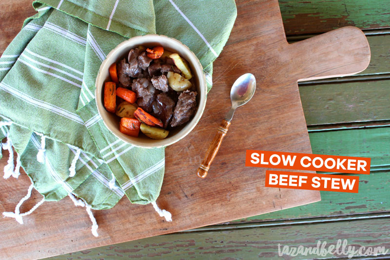 Slow Cooker Beef Stew | tazandbelly.com