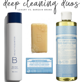 Deep Cleaning Duos | Luxury vs Bargain Brand