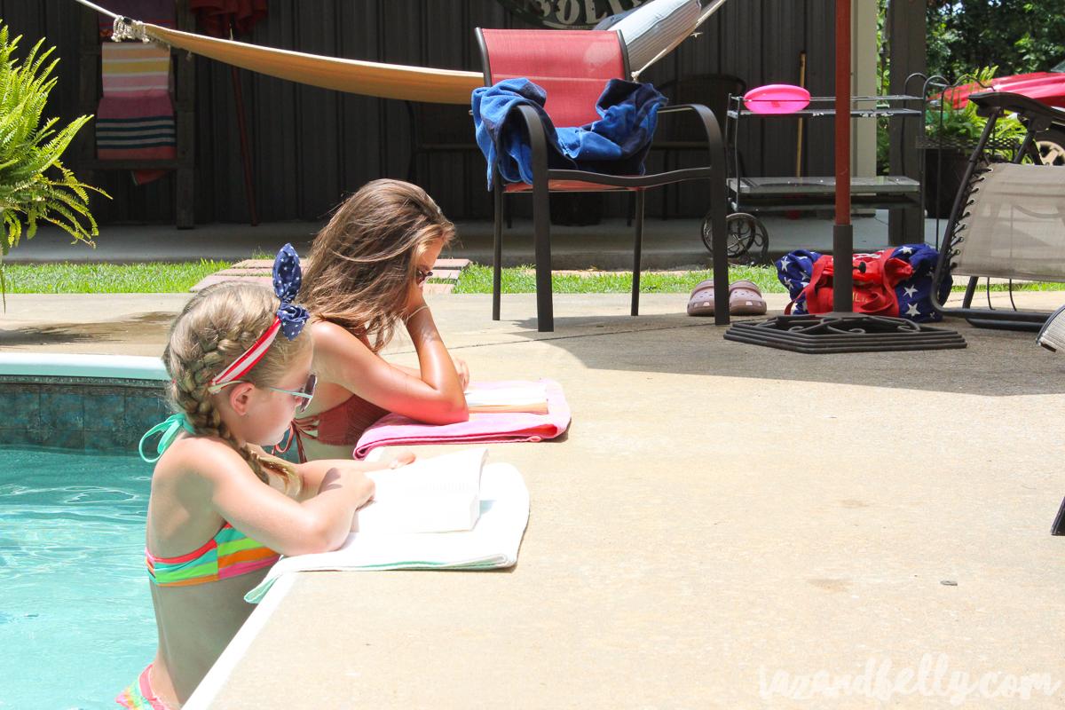 Poolside Picnic with Grove Collaborative   tazandbelly.com