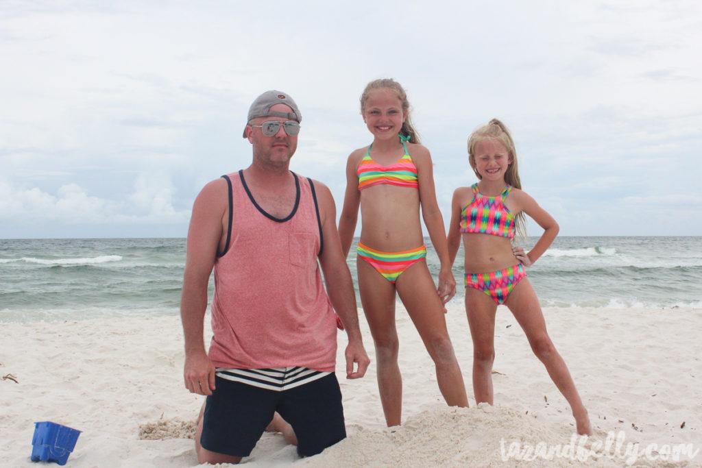 Our Annual Beach Trip 2017 | tazandbelly.com