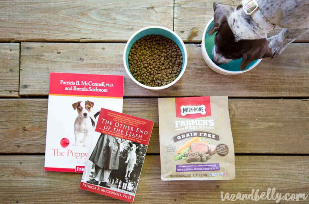 Pupdate: Celebrating Puppy Milestones with Milk Bone Farmer's Medley | tazandbelly.com