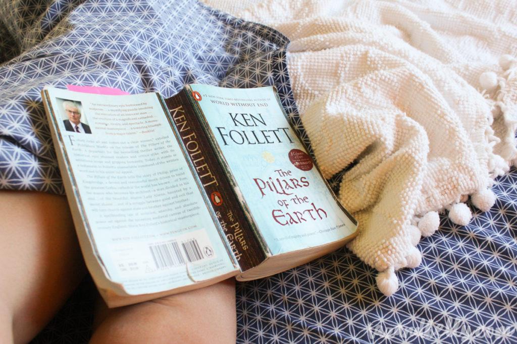 What I Read in June: Pillars of the Earth   tazandbelly.com