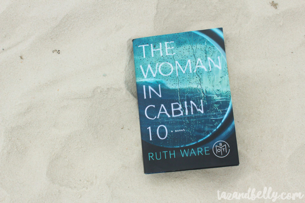 What I Read in June: The Woman in Cabin 10 | tazandbelly.com
