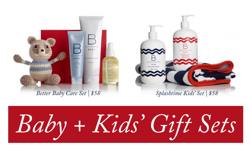 Free Baby Gift Sets : Beautycounter holiday gift guide taz and belly