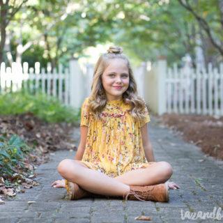 Ella's Golden Birthday | tazandbelly.com