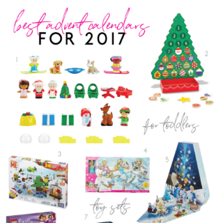 16 of the Best Advent Calendars for Christmas this year! | tazandbelly.com
