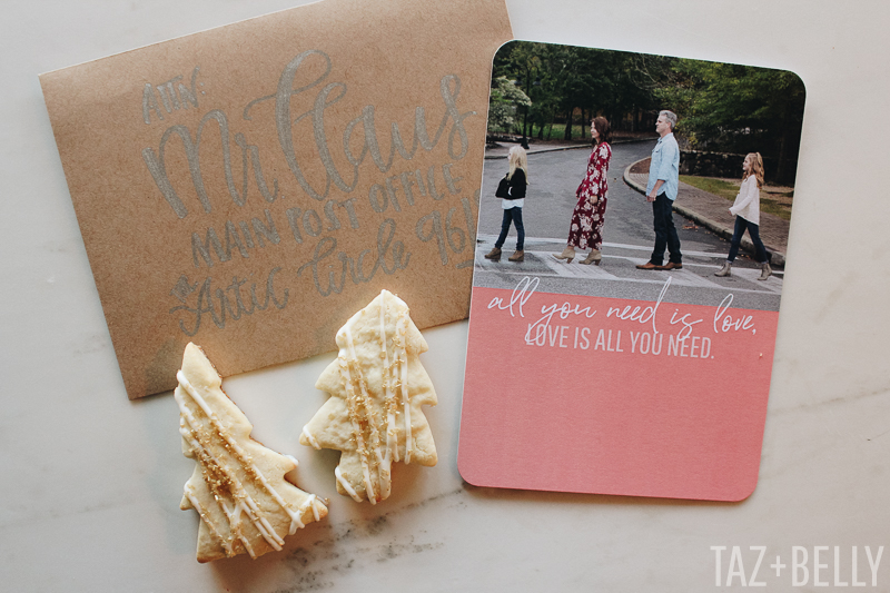 Christmas Cards + Family Photos | tazandbelly.com