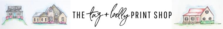 Taz + Belly Print Shop | tazandbelly.com