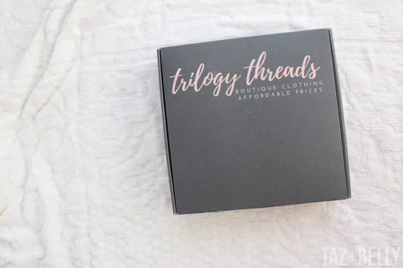 Trilogy Threads Boutique Unboxing Video | tazandbelly.com