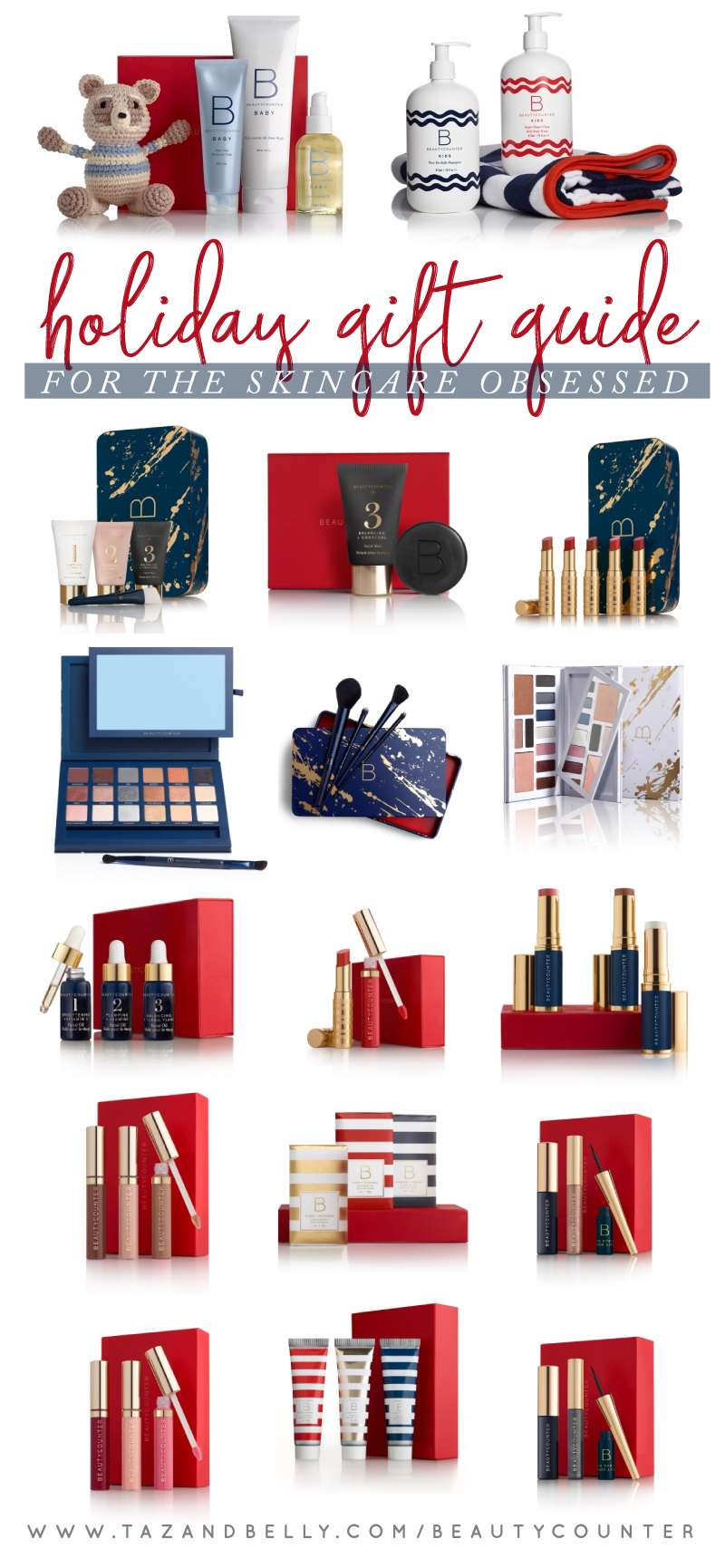 Beautycounter Christmas Sets 2020 Beautycounter Holiday Gift Guide   Taz and Belly